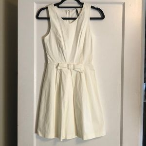 great condition!! white mini formal dress